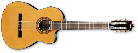 Gitar Akustik By Lay ibanez ga6ce am classical guitar acoustic electric with