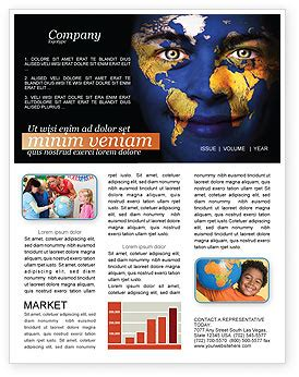 childrens of the world newsletter template for microsoft