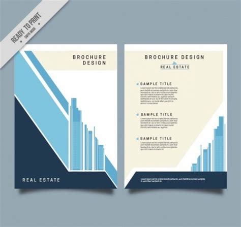 property brochure template free 21 property brochure templates vector eps ai