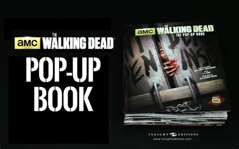 the walking dead the pop up book lancement d un livre pop up de the walking dead golem13