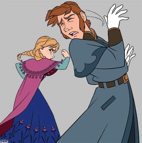 frozen coloring pages anna punches hans pinterest the world s catalog of ideas