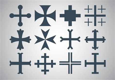 ai pattern cross free maltese cross vector download free vector art