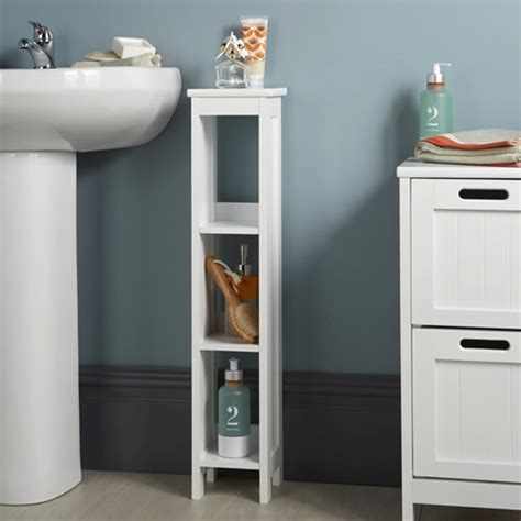 slimline bathroom storage cabinets shaker style slimline unit bathroom storage cabinets