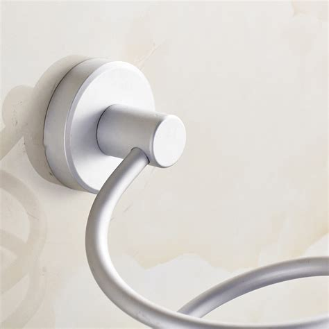 Hair Dryer Holder Wall Mount wall mount hair dryer holder rack space bathroom wall