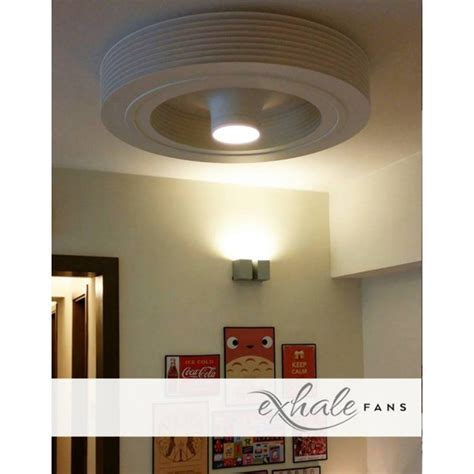 exhale ceiling fans for sale ceiling fan bladeless white with led exhale fans