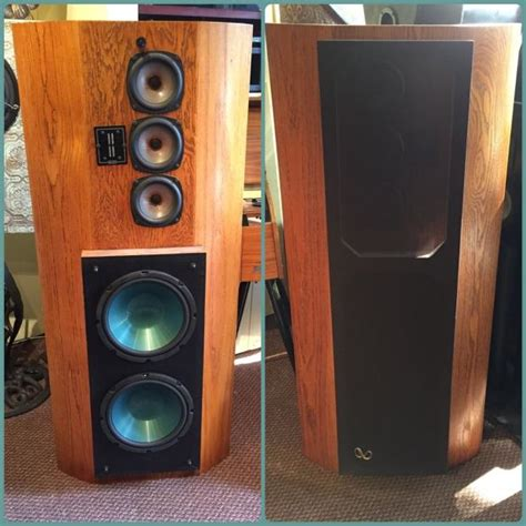 infinity rs ii speakers infinity rs ii reference floor tower speakers reverb