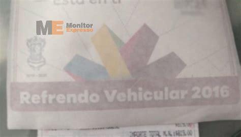 cuanto debo refrendo vehicular 2016 sencillos pasos para pagar en banco el reemplacamiento