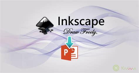 inkscape tutorial banner 善用 inkscape 將svg向量圖轉為ppt中可編輯的素材 kiwi life
