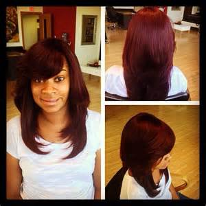 how to leave hair out for sew in 8 best images about full sew in no leave out this style