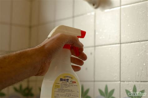 how to remove soap scum from tile 13 easy steps wikihow