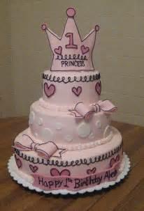 1st birthday princess cake made to match an