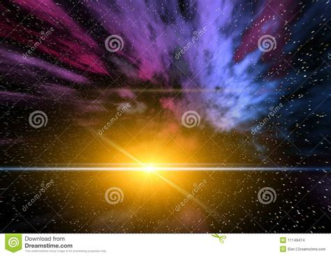 taking a stock of space lighting and design in your abstraction space mistical light stock images image