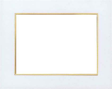 cornice 20x30 passepartout panna filo oro
