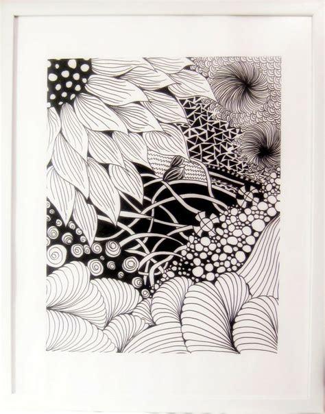 Zentangle Pattern Water | zentangle sunflower and water theme z e n t a n g l e s