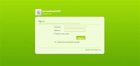 control layout using css customization of spreadsheetweb control panel