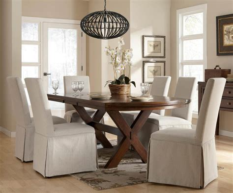 dining room slipcover chairs slipcover for dining room chairs stylish look