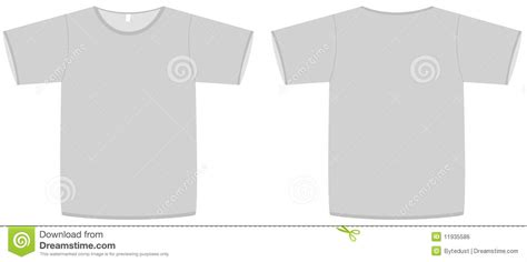 simple t shirt template basic unisex t shirt template vector illustration royalty