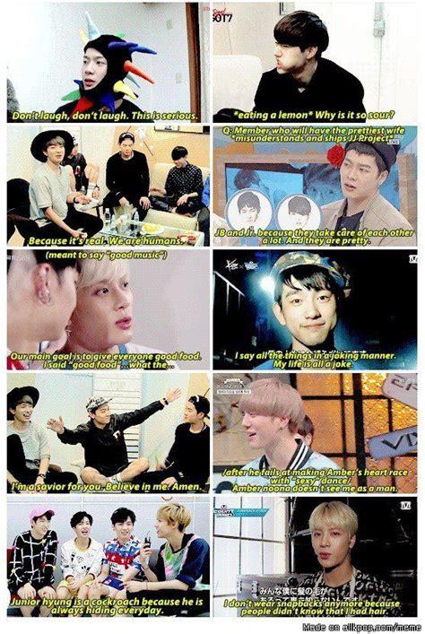got7 allkpop things got7 says allkpop meme center kpop pinterest