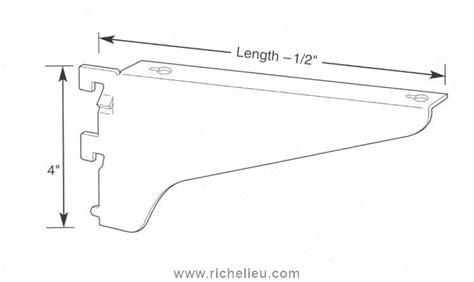 wood shelf bracket no 723 richelieu hardware