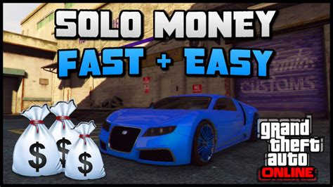 Gta 5 Online Best Money Making Method - gta 5 online insane solo money method best fast easy money not money glitch ps4