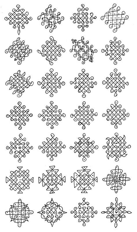 dot kolangal pattern suzhi kolangal south indian traditional art imaginary