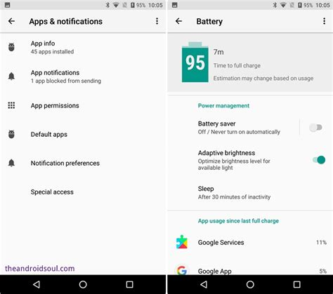 notification settings android android oreo 8 0 settings guide where are your options from nougat and marshmallow