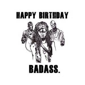Where Can I Get Free Business Cards With Free Shipping The Walking Dead Birthday Card Michonne By Ohsnapcards On Etsy