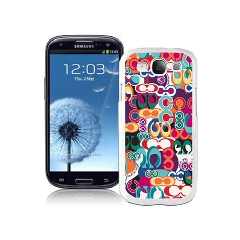 Cas Samsung Coach Fashion Monogram Multicolor Samsung Galaxy S3 9300 Cas Bagpro 3070 8 99 Coach
