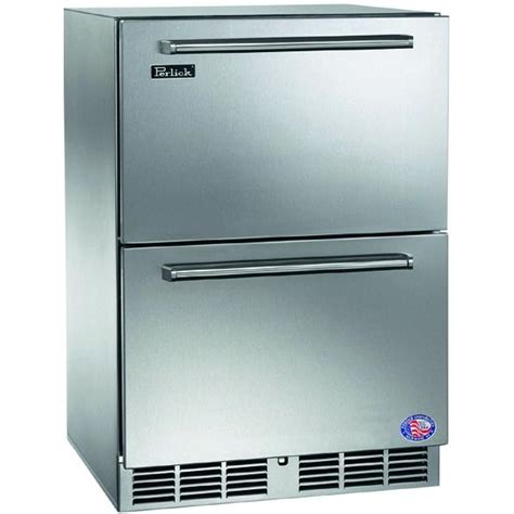 Built In Freezer Drawers by Perlick 5 3 Cu Ft Built In Freezer Integrated Custom