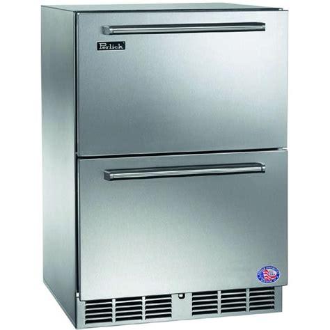 perlick 5 3 cu ft built in freezer integrated custom
