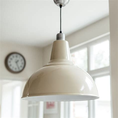 pendant light for kitchen large kitchen pendant light in cream grace glory home