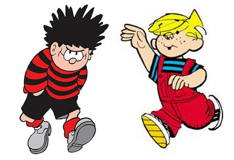 dennis the menace when the unrelated us and uk versions of the comic character dennis the menace