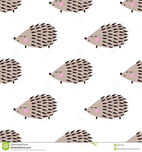 cute pattern drawings hedgehog seamless pattern cute cartoon animal background