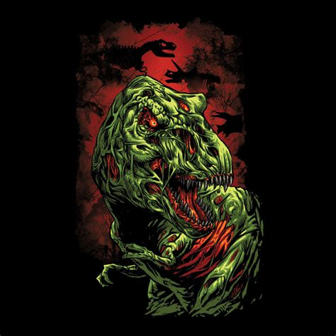 design by humans similar jurassic zombie by design by humans on deviantart
