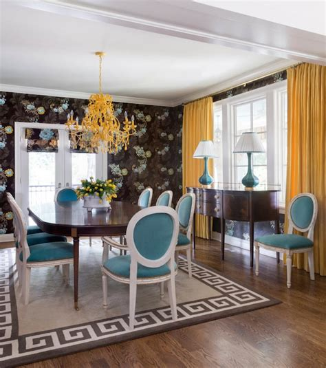 turquoise dining room turquoise dining chairs eclectic dining room tobi
