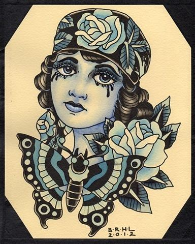 old school woman tattoo design 17 meilleures images 224 propos de old school new tradi