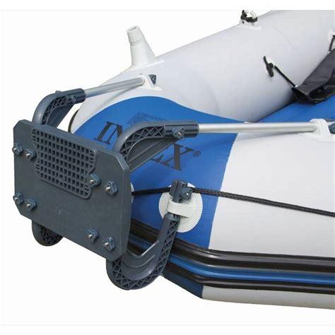 opblaasboot met buitenboordmotor intex motorsteun voor diverse opblaasboten rubberboot expert