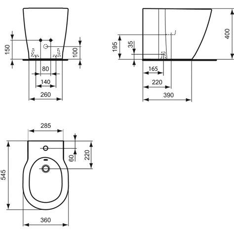 vaso bidet ideal standard ideal standard connect bidet a terra therapy 4 home