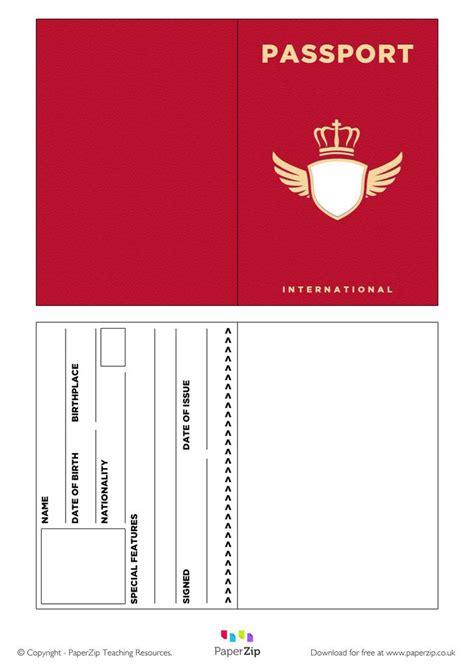 blank passport template passport template free premium templates