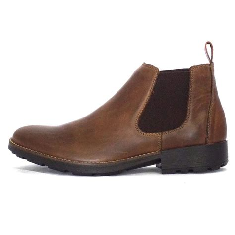 mens boots rieker eastwood 36082 25 mens pull on boot in brown leather