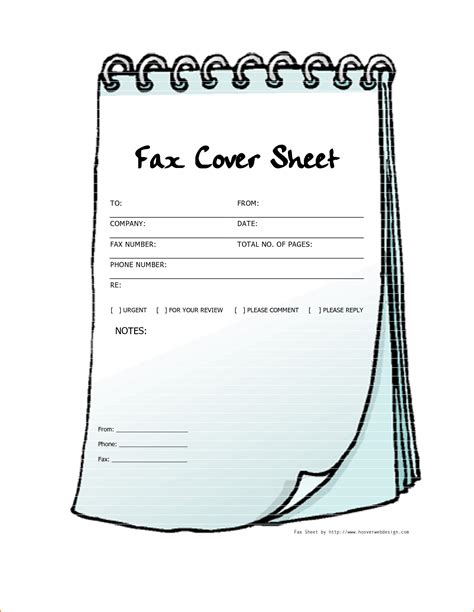 free printable fax cover sheet 4 printable fax cover sheet template teknoswitch