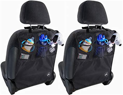 Seat Protector Organizer 2 In 1 Kick Mat Organizer T1310 oxgord 174 kick mats back seat protector w storage organizer pocket 2 pack 2016 model newly