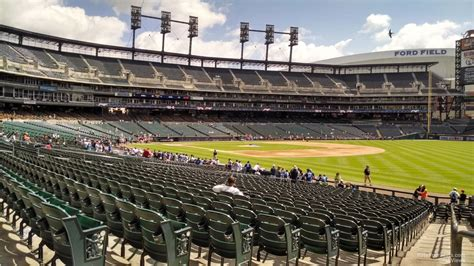 section 113 comerica park comerica park section 115 detroit tigers rateyourseats com