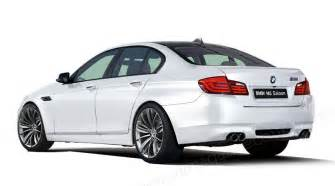 car magazine 2012 bmw m5 rendering and new information