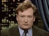 Middle Finger Meme Gif - angry conan obrien gif find share on giphy