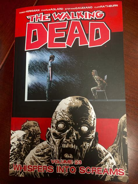 the walking dead vol 2 us the walking dead volume 23 review whispers into screams