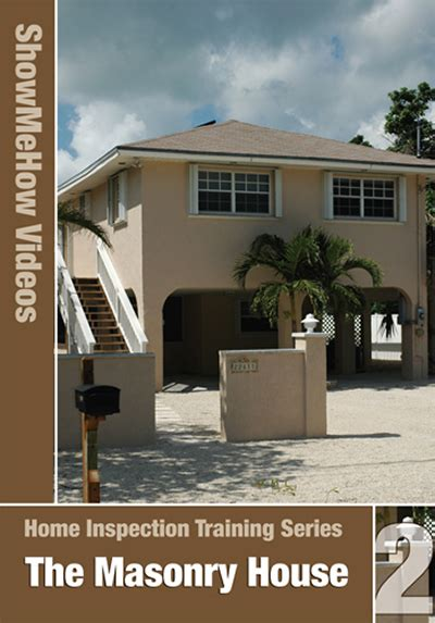 Home Inspection Certification by Home Inspection Series 2 The Masonry House Dvd