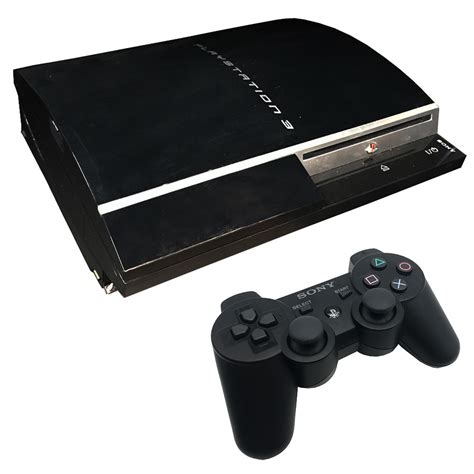 console ps3 playstation 3 original 60gb console pre owned the gamesmen