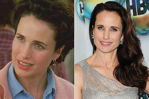 groundhog day andie macdowell see the cast of groundhog day then and now