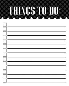 Things To Do Mckell S Closet To Do List